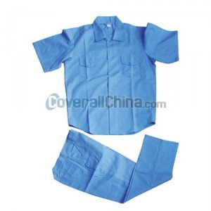 blue work suits
