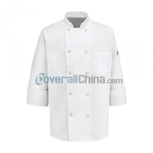 polyester chef coats