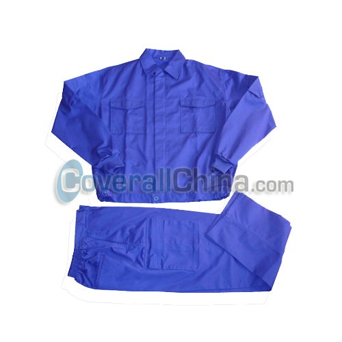 royal blue work suits- SW013