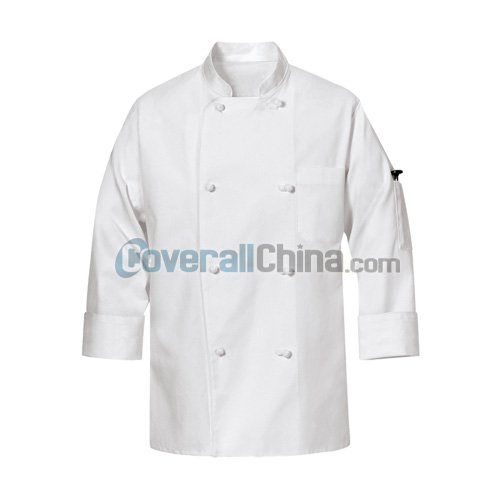 white chef coats- CC001