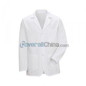 white staff coats