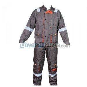 gray boiler suit