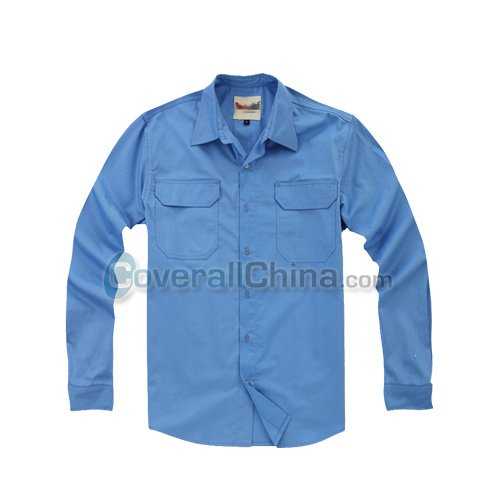 embroidered work shirts- WS005