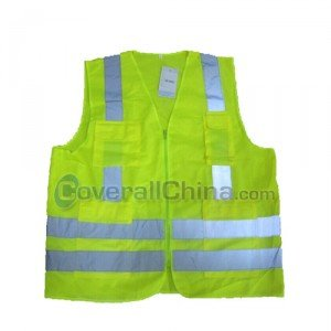 green safety vest
