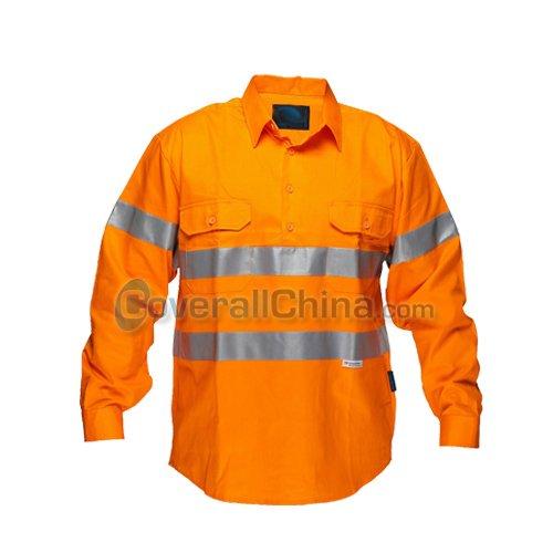 hi vis work shirts- WS016
