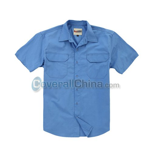 short sleeve work shirts- WS006