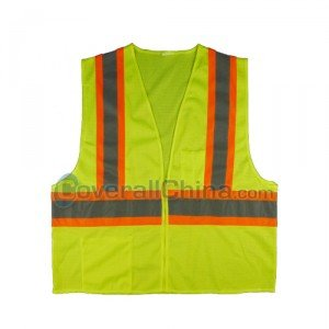 yellow safety vest